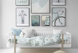 Murs créatifs avec des affiches